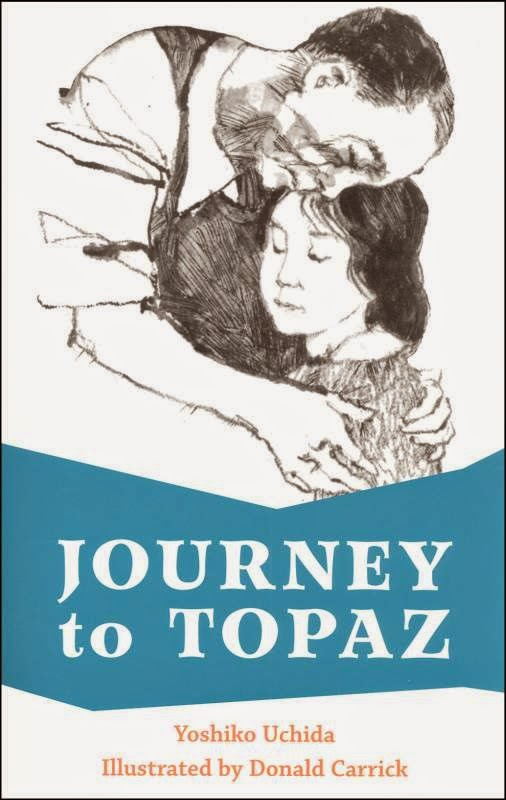 "Book cover of ""Journey to Topaz"" by Yoshiko Uchida"